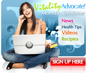 Vitality Newsletter - Sign Up Now