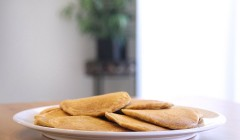 Spelt and Corn Flour Blini Recipe
