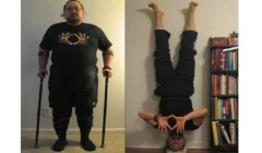 Inspirational Veteran Loses 140 LBS, Walks On Own Again