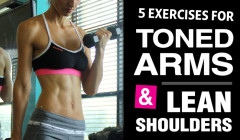 Upper Arm Exercises for Tank Top Arms
