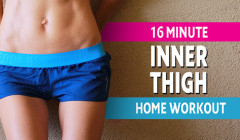 New Inner Thigh Workout for Women – 16 Minutes