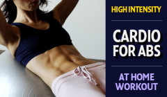 Intensive Abs and Cardio Workout for Women